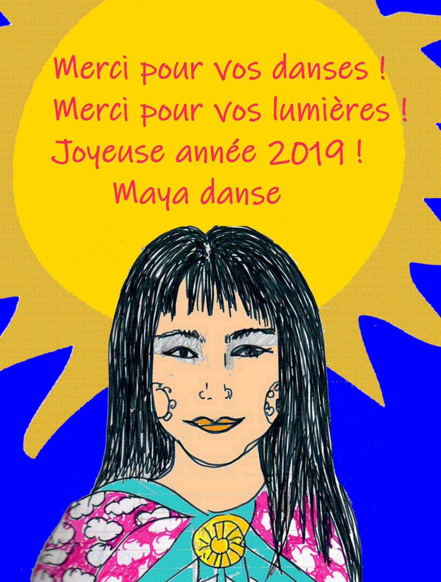merci maya danse